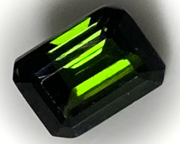 Dark Green Tourmaline Gem NR