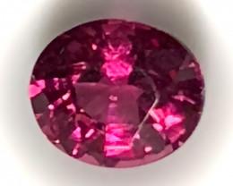 ⭐1.76ct Crimson Pink Rhodolite Garnet No Reserve