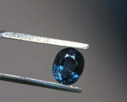 1.26ct VS Blue Spinel Cert.