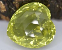 28.40 Crt Natural Lemon Quartz Faceted Gemstone.( AB 21)