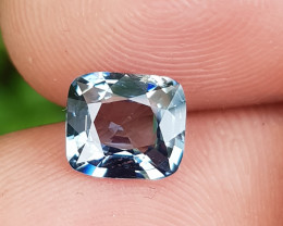 NO TREAT 1.38 CTS NATURAL BEAUTIFUL BLUISH GRAY SPINEL FROM BURMA