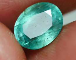 1.35 CRT BEAUTY BLUISH GREEN EMERALD BERYL-
