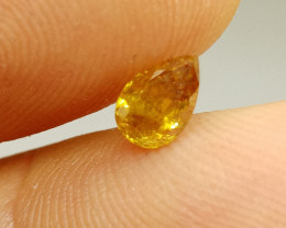 0.58ct  Fancy  brownish Orange Diamond , 100% Natural Untreated