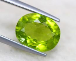 3.66Ct Natural Green Peridot Oval Cut Lot LZ3683