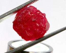 21.01-CTS RICH RED RUBY ROUGH RG-4974