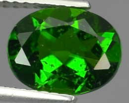1.90 CTS NATURAL ULTRA RARE CHROME GREEN DIOPSIDE  RUSSIA