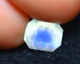 Moonstone 1.17Ct Top AAA Sri Lanka Rainbow Blue Moonstone E0602