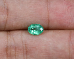 0.78ct Lab Certified Zambian Emerald