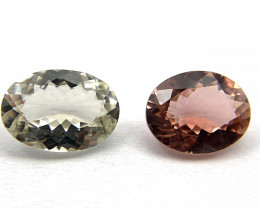 Tourmaline 4.27 ct Lot of 2 gemstones