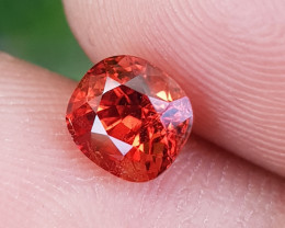 NO TREAT 1.27 CTS NATURAL STUNNING ORANGY FIRE SPINEL FROM BURMA