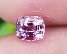 NO TREAT 1.05 CTS NATURAL STUNNING SEA FOAM PINK SPINEL BURMA