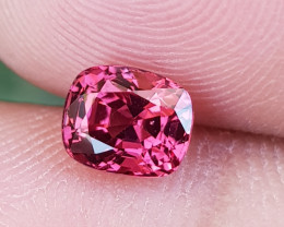NO TREAT 1.39 CTS NATURAL STUNNING HOT PINKISH RED SPINEL FROM BURMA