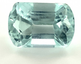 Aquamarine 2.20ct, Faceted, Natural, Untreated, March Birthstone, 19th Wedd