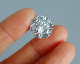 10.85ct Diamond, Round Brilliant, J VVS1, Triple Ex