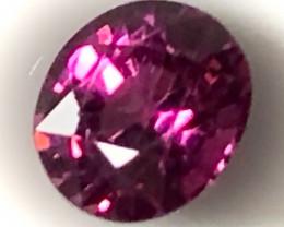 1.53ct Bright Ruby toned Rhodolite Garnet Exquisite Stone