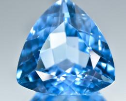 17.35 Crt Natural Topaz Faceted Gemstone.( AB 22)