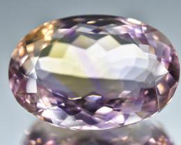 12.18 Crt Natural Ametrine Faceted Gemstone.( AB 22)