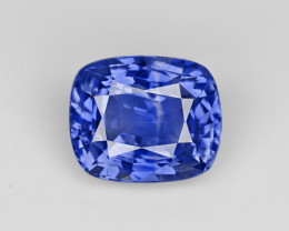 Blue Sapphire, 7.55ct - Mined in Sri Lanka | Certified by GRS