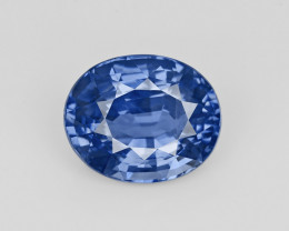 Blue Sapphire, 9.73ct - Mined in Sri Lanka | Certified by GRS