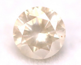 Peach Pink Diamond 0.19Ct Natural Untreated Fancy Peach Pink Color C0703