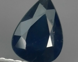 1.00 CTS AWESOME BLUE SAPPHIRE HEATED FACETED GENUINE