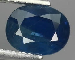 2.55 CTS AWESOME BLUE SAPPHIRE HEATED FACETED GENUINE