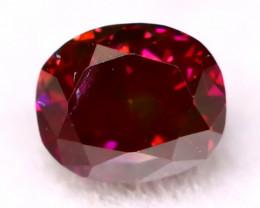 Purplish Pink Diamond 0.12Ct Natural Fancy Vivid Pink Diamond C0716