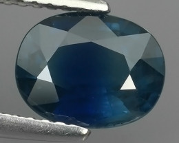 1.90 CTS AWESOME BLUE SAPPHIRE HEATED FACETED GENUINE