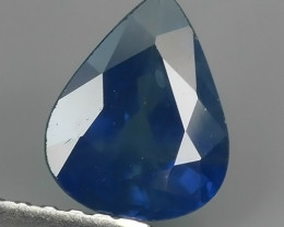 1.30 CTS AWESOME BLUE SAPPHIRE HEATED FACETED GENUINE