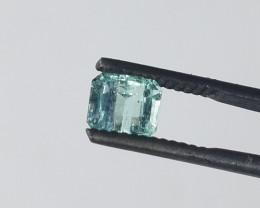 0.95 CT Panjshir Afghanistan Emerald Cut