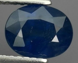 1.60 CTS AWESOME TOP BLUE SAPPHIRE FACET GENUINE MADAGASCAR