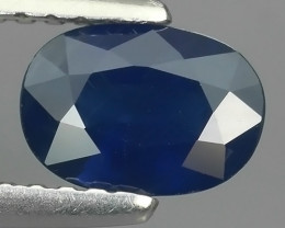 0.85 CTS EXCEPTIONAL NATURAL SAPPHIRE BLUE MADAGASCAR