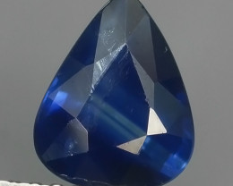 1.40 CTS AWESOME TOP BLUE SAPPHIRE FACET GENUINE MADAGASCAR