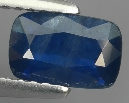 1.25 CTS AWESOME TOP BLUE SAPPHIRE FACET GENUINE MADAGASCAR