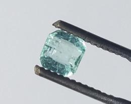 0.65 CT Panjshir Afghanistan Emerald Cut