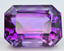 AAA Grade 57.95 ct Natural Fancy Cut Amethyst