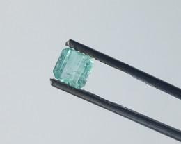 0.90 CT Panjshir Afghanistan Emerald Cut