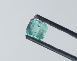 0.80 CT Panjshir Afghanistan Emerald Cut