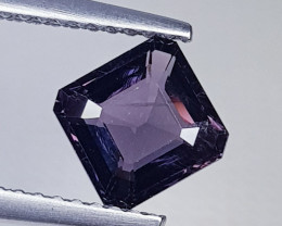 1.37 ct AAA Quality Gem  Octagon Cut Natural Pink  Spinel