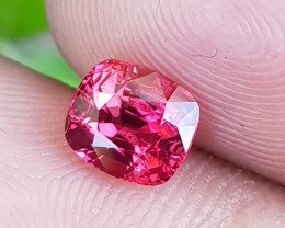 NO TREAT 1.30 CTS NATURAL STUNNING PINKISH RED JEDI SPINEL FROM BURMA