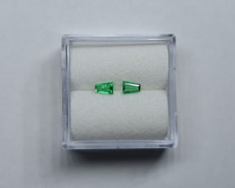 0.22 Carat top Green Panjshir Emerald