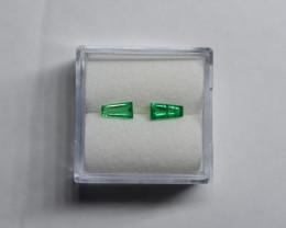 0.50 Carat Vivid Green Panjshir Emerald