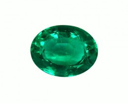 2.02 ct Top Colombian Emerald