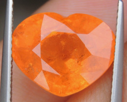 "10.30cts ""Neon"" Glowing Orange Garnet,"