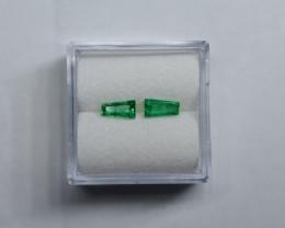 0.56 Carat Vivid Green Panjshir Emerald
