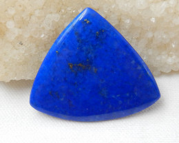 85.5cts High Quality Blue Triangle Lapis Lazuli Cabochon | Natural Lapis La