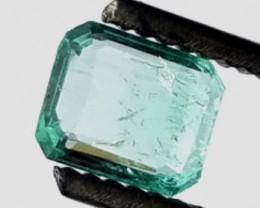 0.85 CT Panjshir Afghanistan Emerald Cut    Ref 13