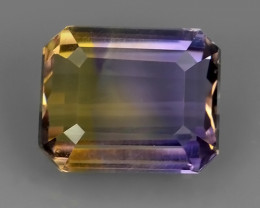4.85 CTS WOW NATURAL AMETRINE BI COLOR OCTOGON