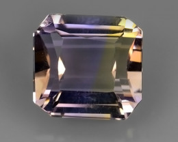 3.40 CTS WOW NATURAL AMETRINE BI COLOR OCTOGON
