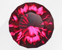 4.71 carats Red Rhodolite Garnet Brilliant Red Colour ANGC841